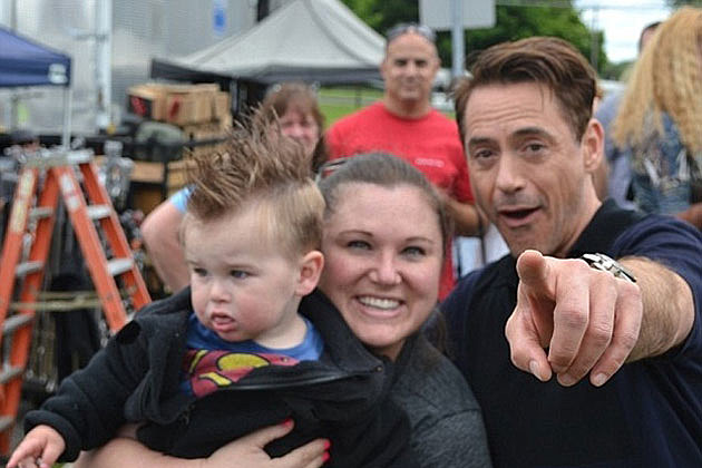 Robert Downey Jr Meets Kid