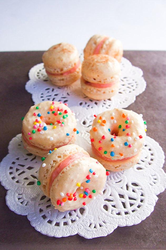 Doughnut Macaron
