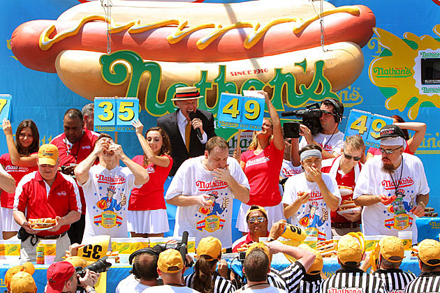 Nathan's Hot Dog Contest GIFs