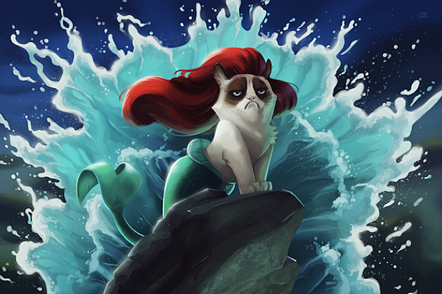 Grumpy Cat Disney