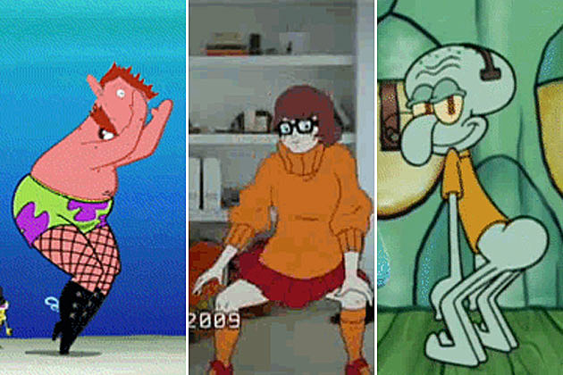 Twerking Cartoons