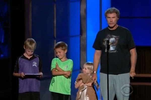 Will Ferrell Kids Emmys Will Ferrell Brought H...