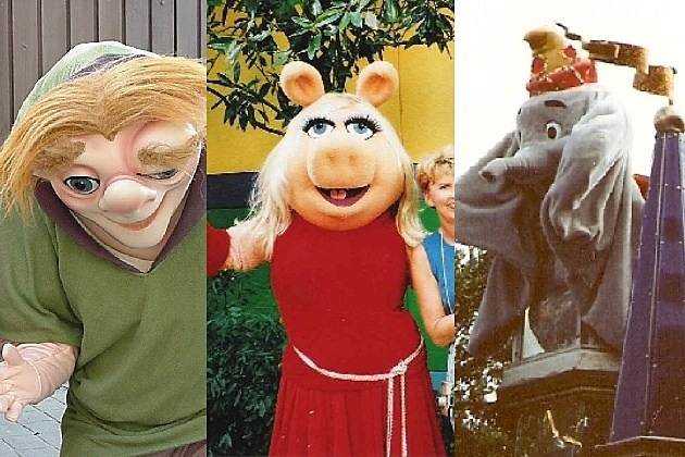 Lost Disney Parks Characters - Quasimodo, Miss Piggy, Dumbo