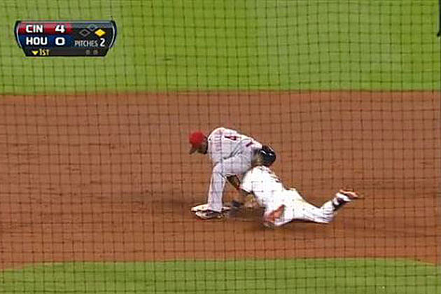 Baseball Butt Slide