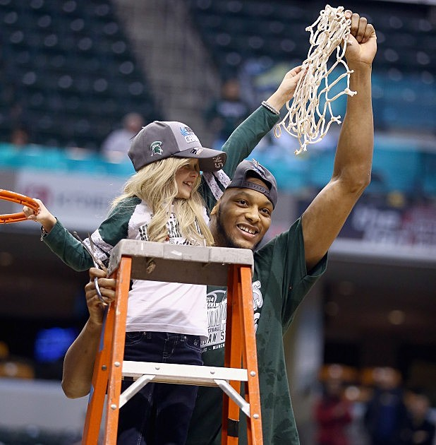 Adreian Payne and Lacey Hullsworth