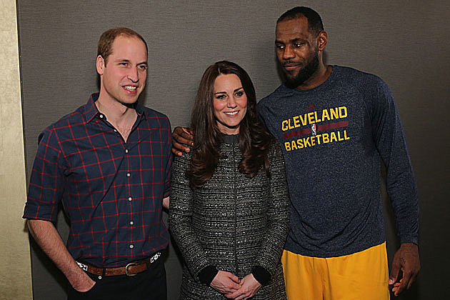 LeBron James, Royal Couple