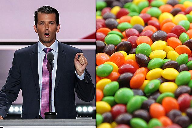 Donald Trump Jr., Skittles