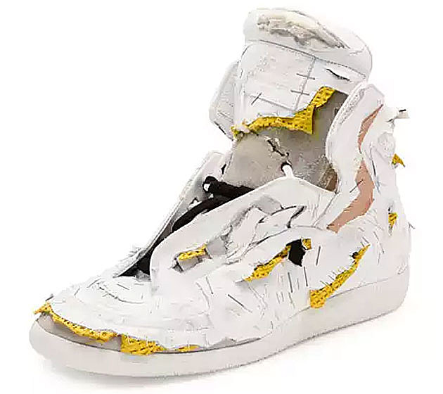 Future Destroyed High-Top Sneaker